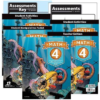 Math 4 Home School Kit 4th Edition