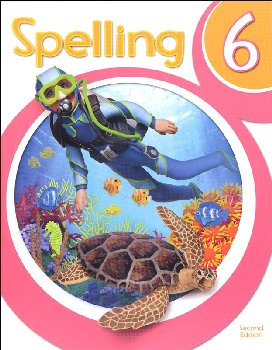 Spelling 6 Student Worktext 2nd Edition (copyright update)