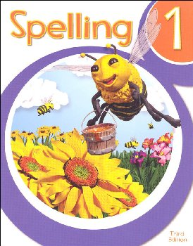 Spelling 1 Student Worktext 3rd Edition (copyright update)