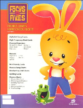 Focus on Fives K5 Teaching Visuals Flip Chart 4th Edition