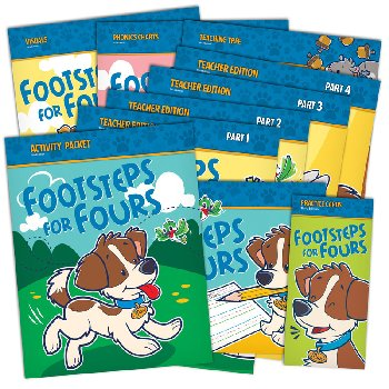 Footsteps for Fours Home School Kit 3rd Edition