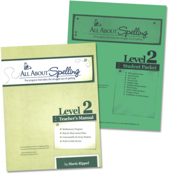 All About Spelling Level 2 Materials