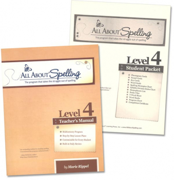 All About Spelling Level 4 Materials