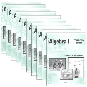 Algebra 1 LightUnit Set 901-910