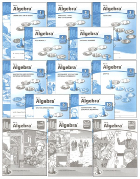 Key to Algebra complete set workbooks + keys