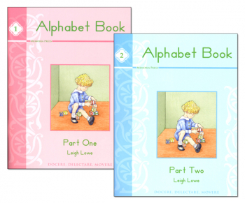 Alphabet Books 1 & 2 (2 Book Set)