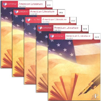American Literature Lifepac Set