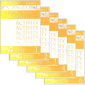 Basic Math Skills Activities Package (Chapters 1-6)