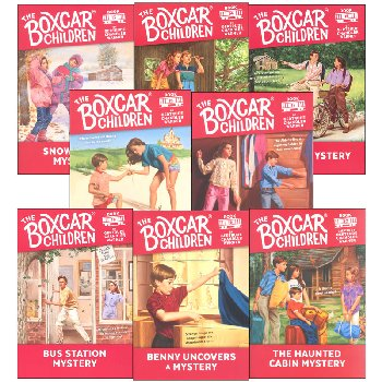 Boxcar Children Mysteries Books #13-#20