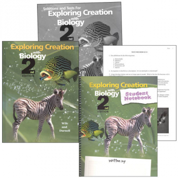 Exploring Creation with Biology Notebook Set