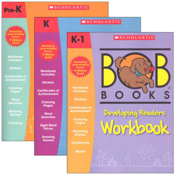 Bob Books Workbooks - Set of 3