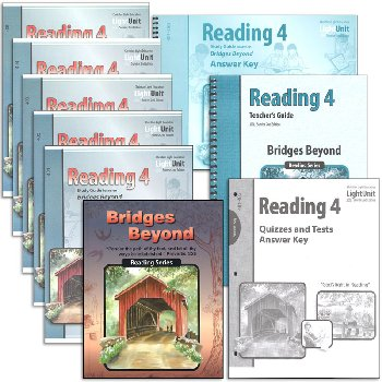Bridges Beyond Reading 4 Complete Set Sunrise 2nd Edition