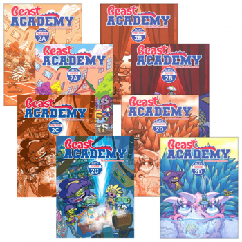 Beast Academy Grade 2 Curriculum Package