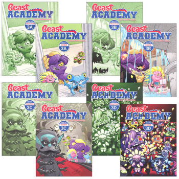 Beast Academy Grade 3 Curriculum Package