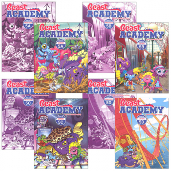 Beast Academy Grade 5 Curriculum Package