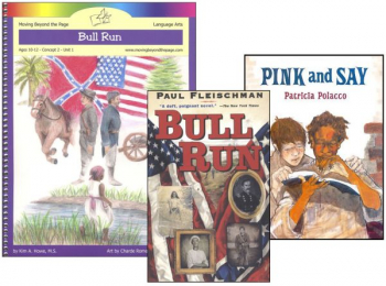 Bull Run Literature Unit Package