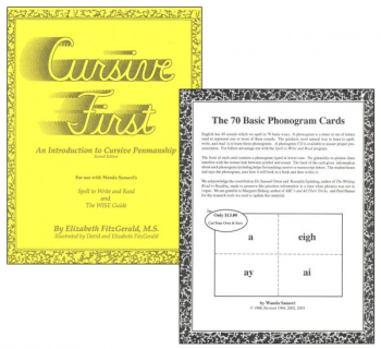 Cursive First & Phonogram Cards Package