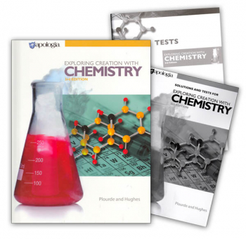 Exploring Creation w/ Chemistry SET 3rd Edition