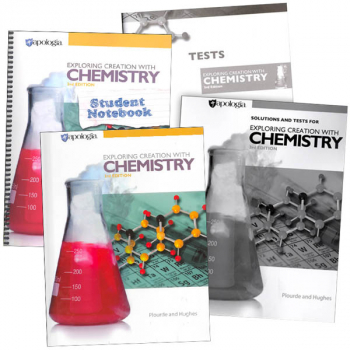 Exploring Creation with Chemistry 3rd Edition Notebook Set