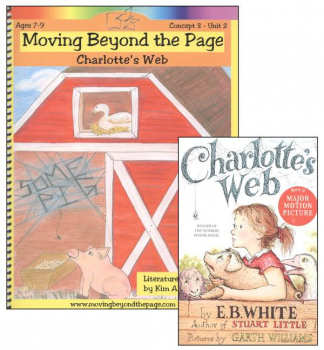 Charlotte's Web Literature Unit Package