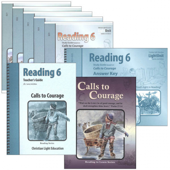 Calls to Courage Reading 6 Complete Set Sunrise 2nd Edition