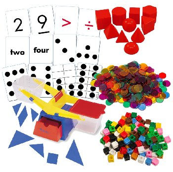 Earlybird Math Basic Manipulatives Package