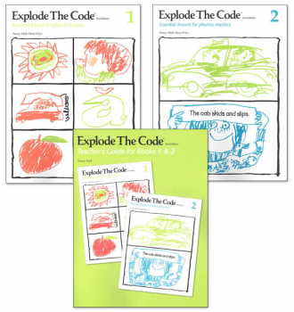Explode the Code Books 1-2 with Teacher Guide (2nd Edition)
