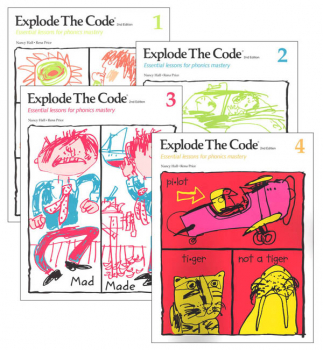 Explode the Code Books 1-4 (no 1/2s) (2nd Edition)