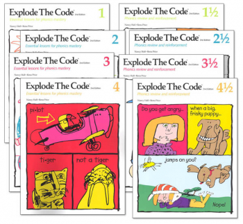 Explode the Code Books 1-4 (including 1/2s) (2nd Edition)