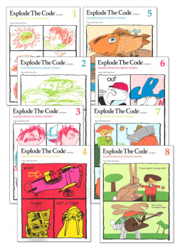 Explode the Code Books 1-8 (no 1/2s) (2nd Edition)