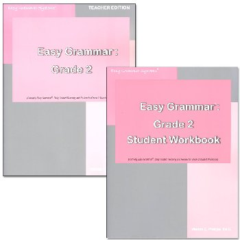 Easy Grammar Grade 2 Set