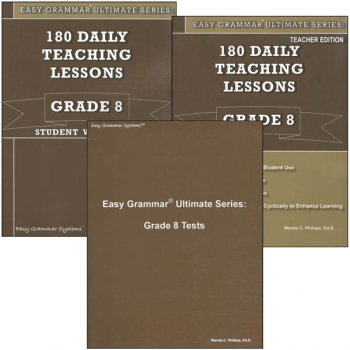 Easy Grammar Ultimate Series Grade 8 Set