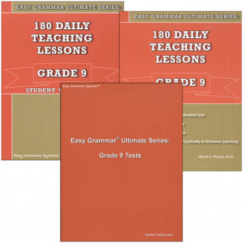 Easy Grammar Ultimate Series Grade 9 Set
