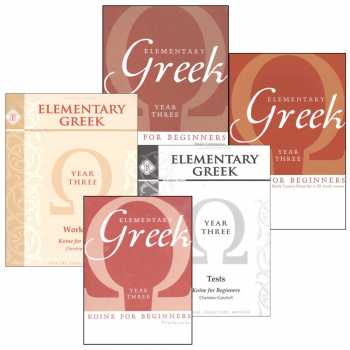 Elementary Greek Koine for Beginners - Year 3 Set