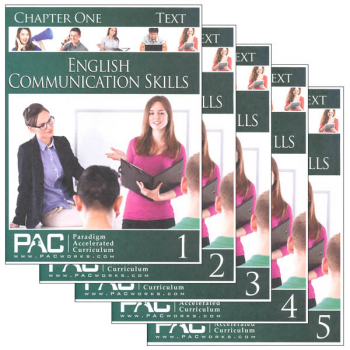 English Communication Skills Text Package (Chapters 1-5)