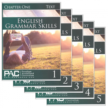 English Grammar Skills Text Package (Chapters 1-5)