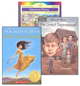 Esperanza Rising Literature Unit Package