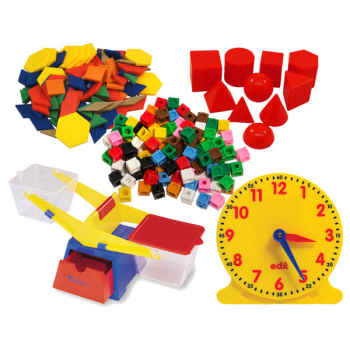 Essential Math Manipulatives Package