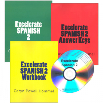 Excelerate Spanish 2 Complete Curriculum