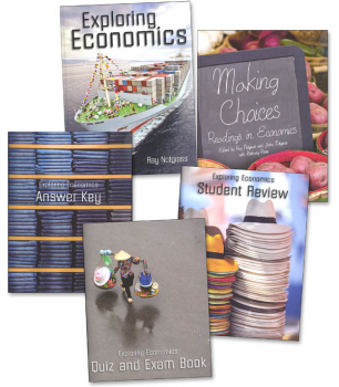 Exploring Economics Curriculum Package  with Student Review Pack