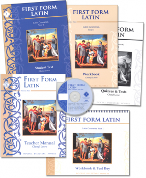 First Form Latin Text Set