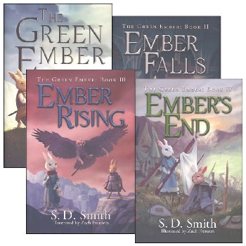 Green Ember Series Hardcover Set (4-Book Core Set)