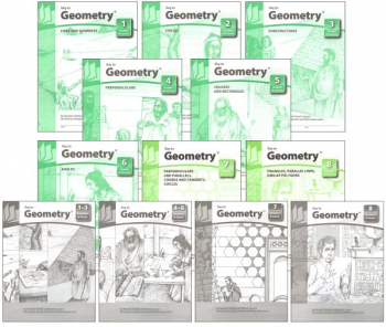 Key to Geometry complete set workbooks + keys
