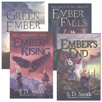 Green Ember Series Softcover Set (4-Book Core Set)