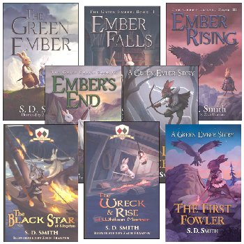 Green Ember Series Set (4 hardcover titles, 4 softcover titles)