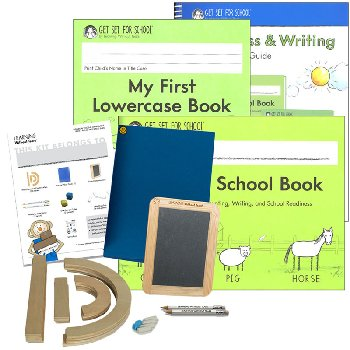 Get Set for School Books and Manipulative Pack 2