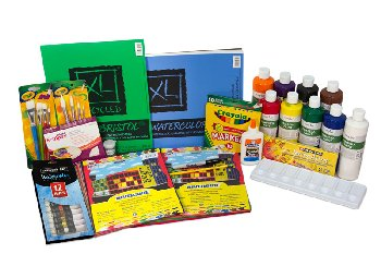 Home Art Studio Grade 2 Art Supply Package