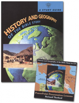 History and Geography of the Bible Story Study Guide and CD-ROM Package