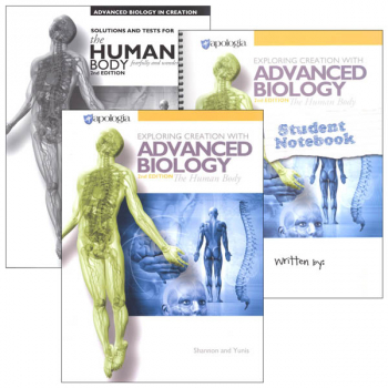 Advanced Biology: Human Body 2nd Edition Notebook Set