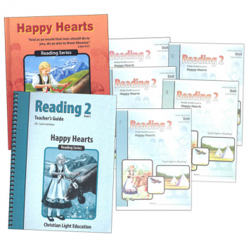 Happy Hearts Reading 2 Complete Set Sunrise 2nd Edition